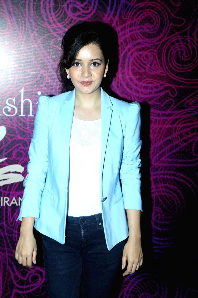 Actress Sulagna Panigrahi during the first look and music launch of Ek Adbhut Dakshina Guru Dakshina in Mumbai on March 25, 2015. - Sulagna Panigrahi