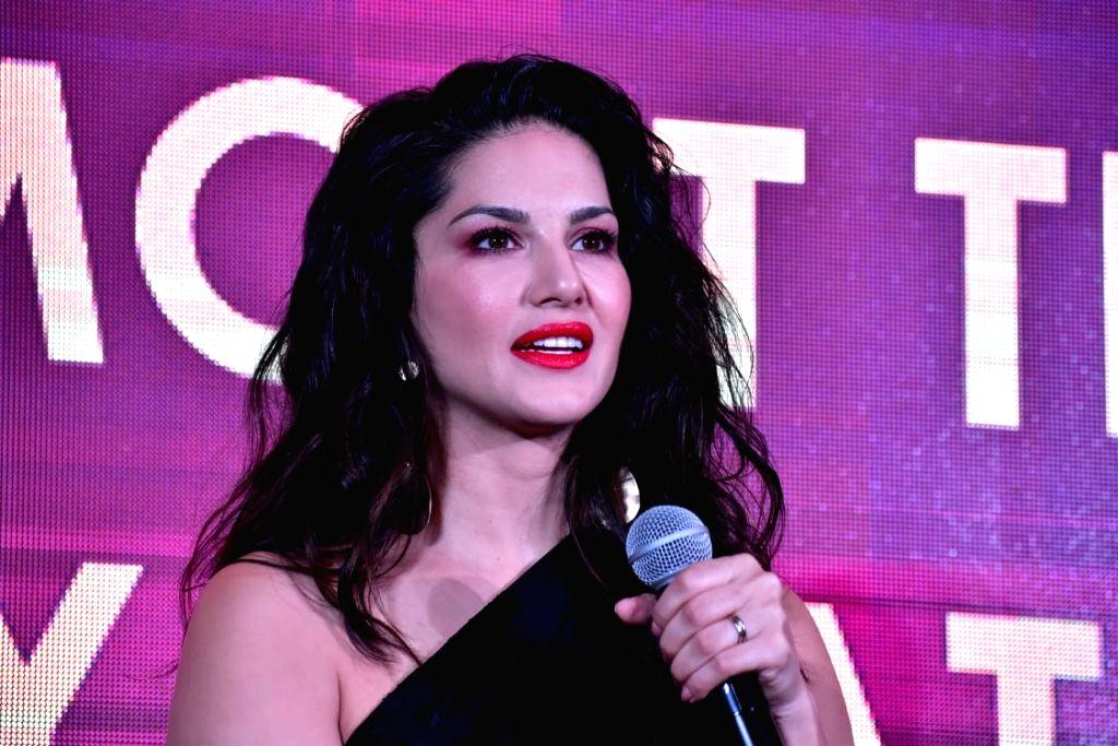 Mumbai: Actress Sunny Leone at the launch of a gaming website in Mumbai, on March 12, 2019. (Photo: IANS) - Sunny Leone