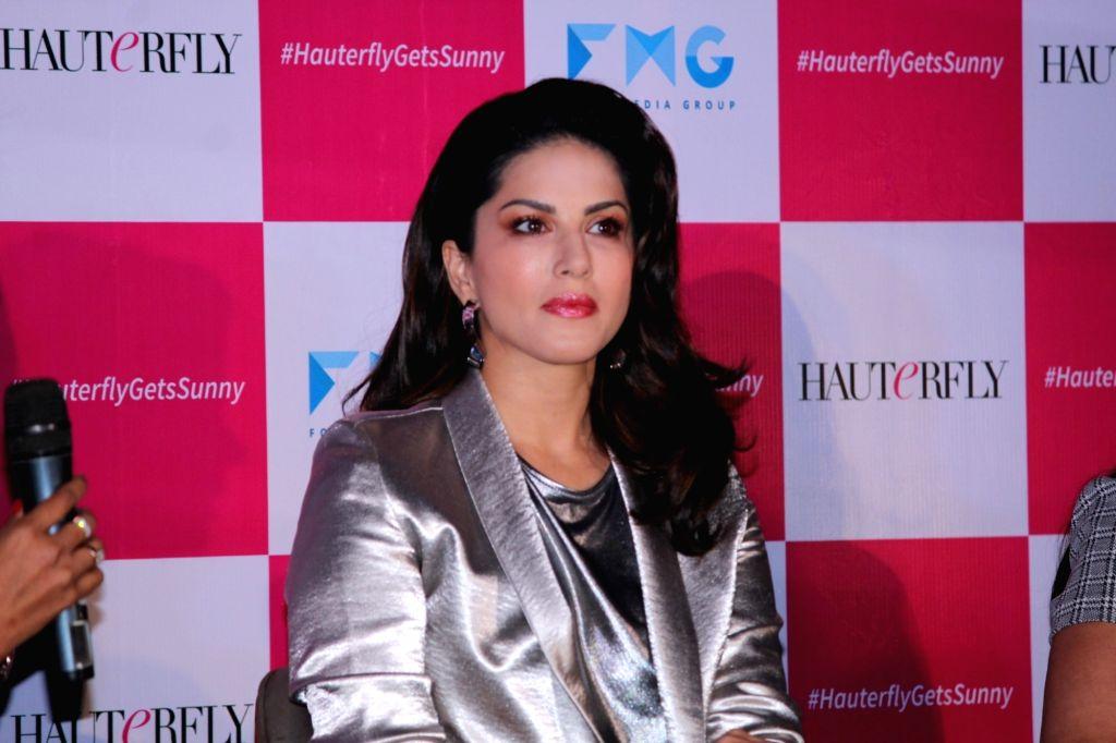 Mumbai: Actress Sunny Leone during a programme in Mumbai on April 30, 2019. (Photo: IANS) - Sunny Leone