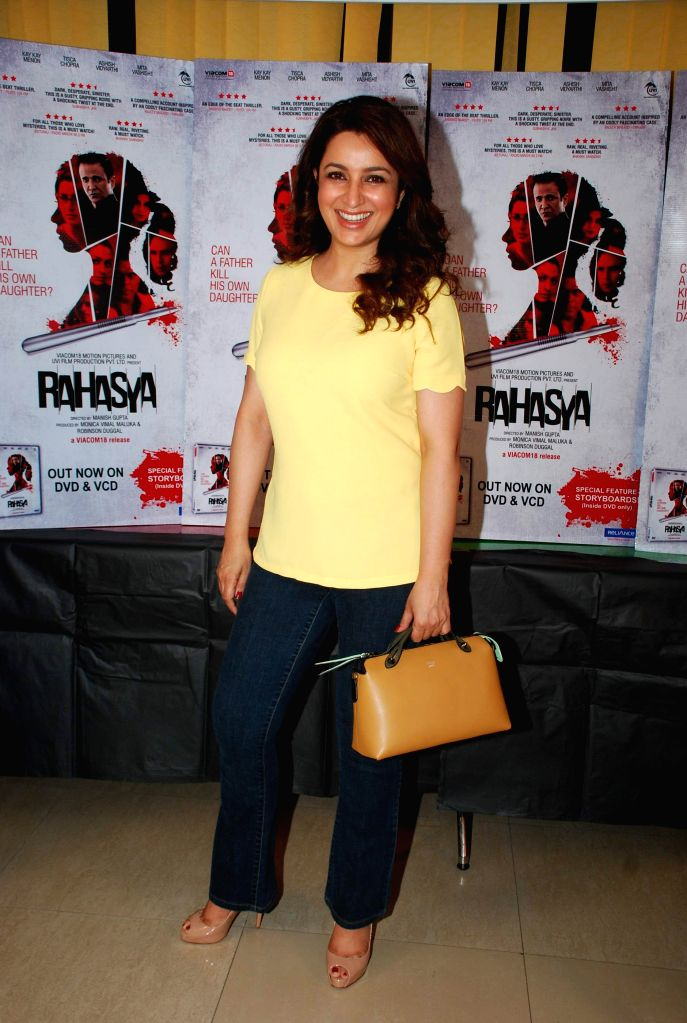 Actress Tisca Chopra during the DVD launch of film Rahasya in Mumbai, April 3, 2015. - Tisca Chopra