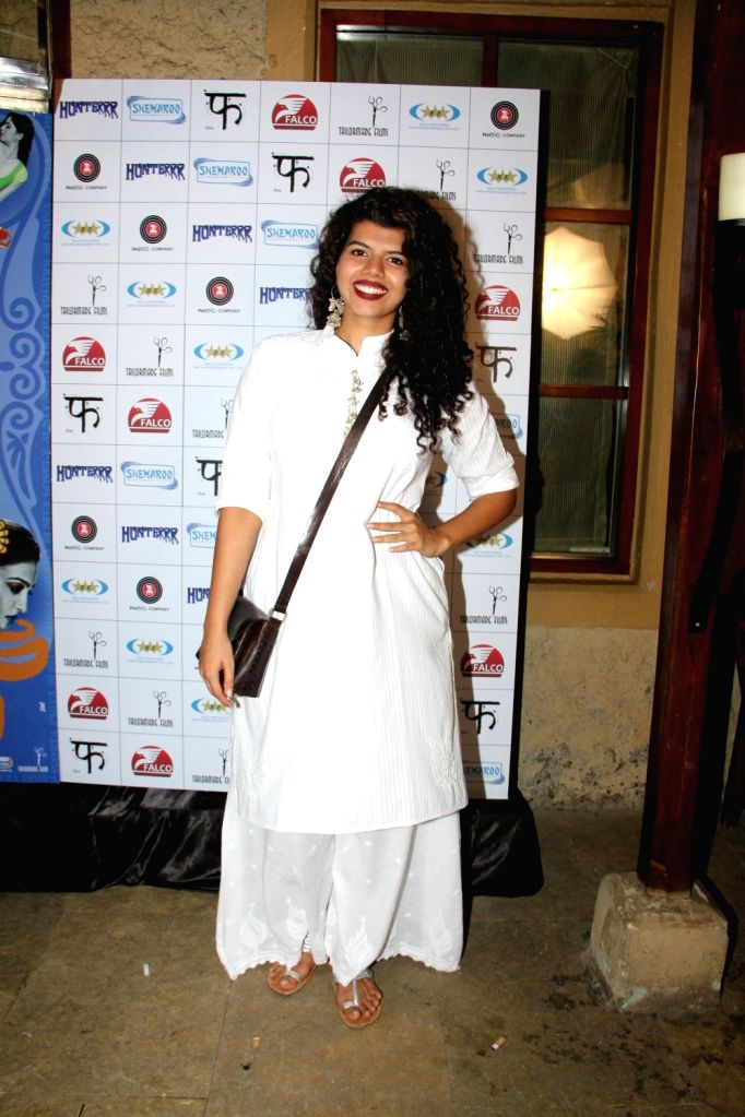 Actress Veera Saxena during the success party of film Hunterrr in Mumbai on March 27, 2015. - Veera Saxena
