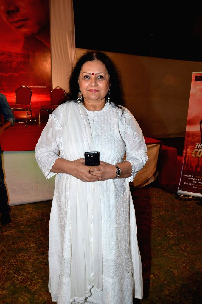 Actress Vidya Sinha at the Red corridor film launch in Mumbai on Jan 18, 2015. - Vidya Sinha