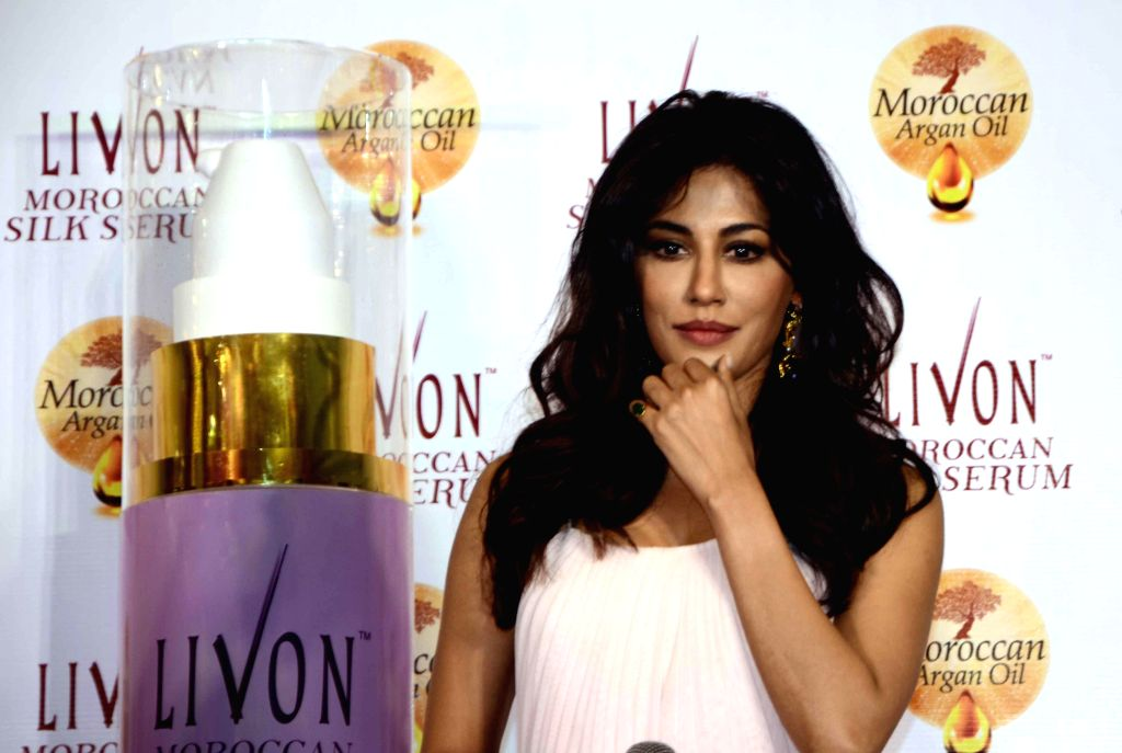 Actresses Chitrangada Singh during a programme in Mumbai, on Dec 2, 2014.