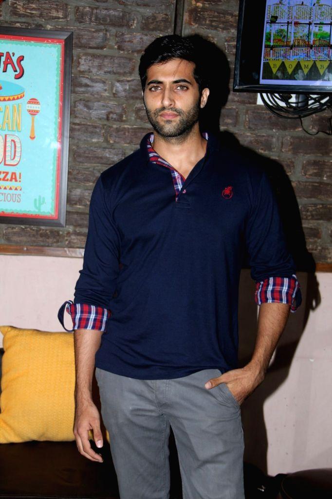 Akshay Oberoi during Bombariya Film Announcement launch party in Mumbai on April 21, 2015.