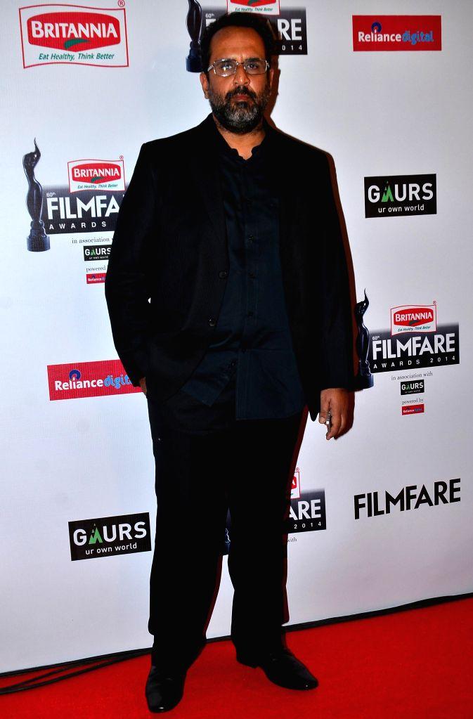 Anand L Rai during the 60th Britannia Filmfare awards in Mumbai, on January 31, 2015. - Anand L Rai