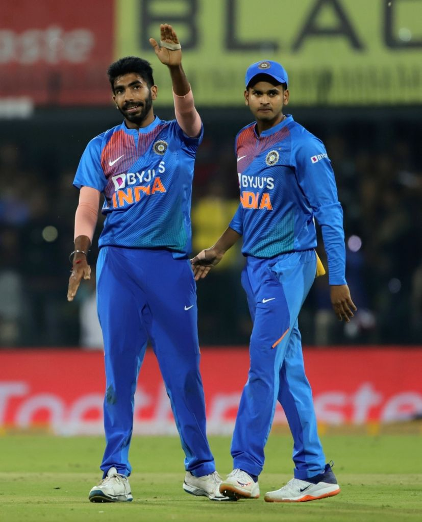 Mumbai, April 1 (IANS) India pacer Jasprit Bumrah on Wednesday said he takes inspiration from Swedish star footballer Zlatan Ibrahimovic and the way he rose from the ashes to become one of the best in the business.(File Photo: IANS)