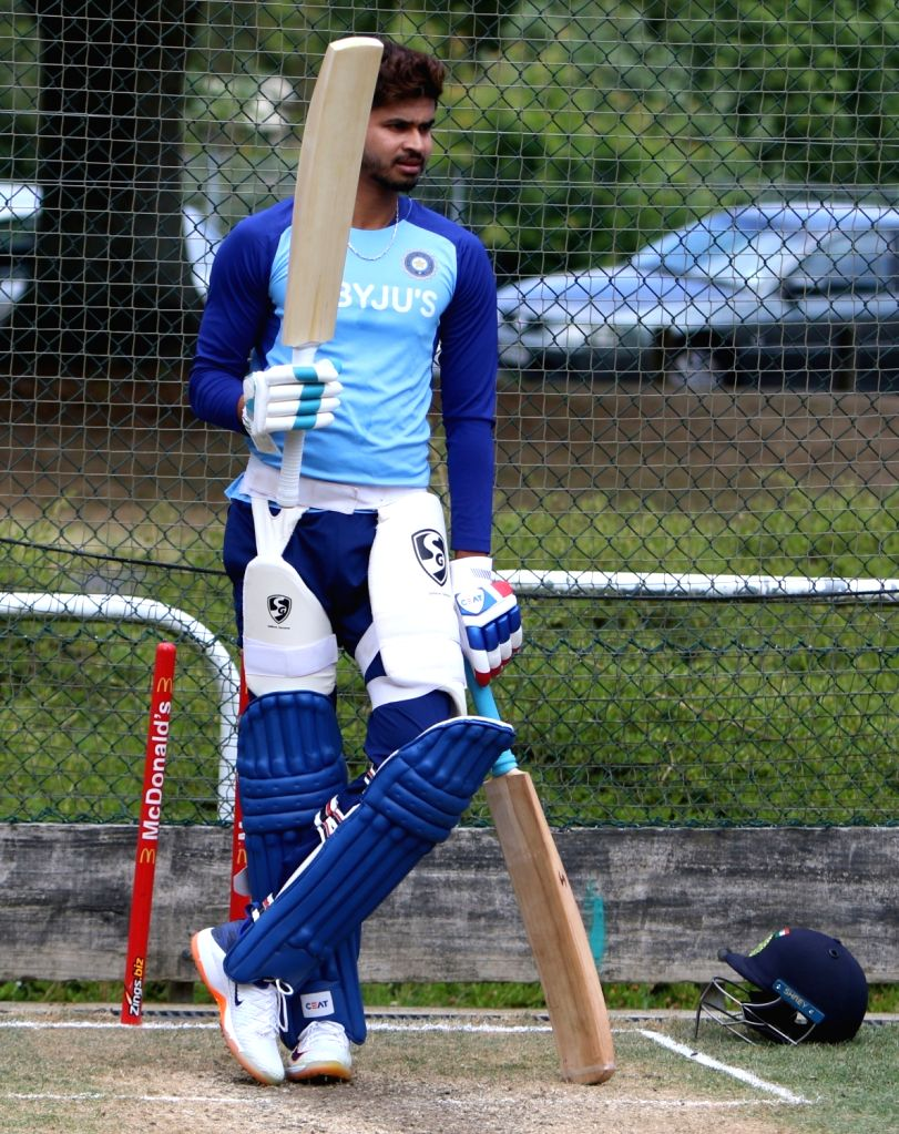 Mumbai, April 19 (IANS) With gyms closed during the nationwide lockdown, athletes are embracing unique ways and means to stay fit. As far as cricketer Shreyas Iyer is concerned, the India middle order batsman is using his kit bag to do the lifting.(