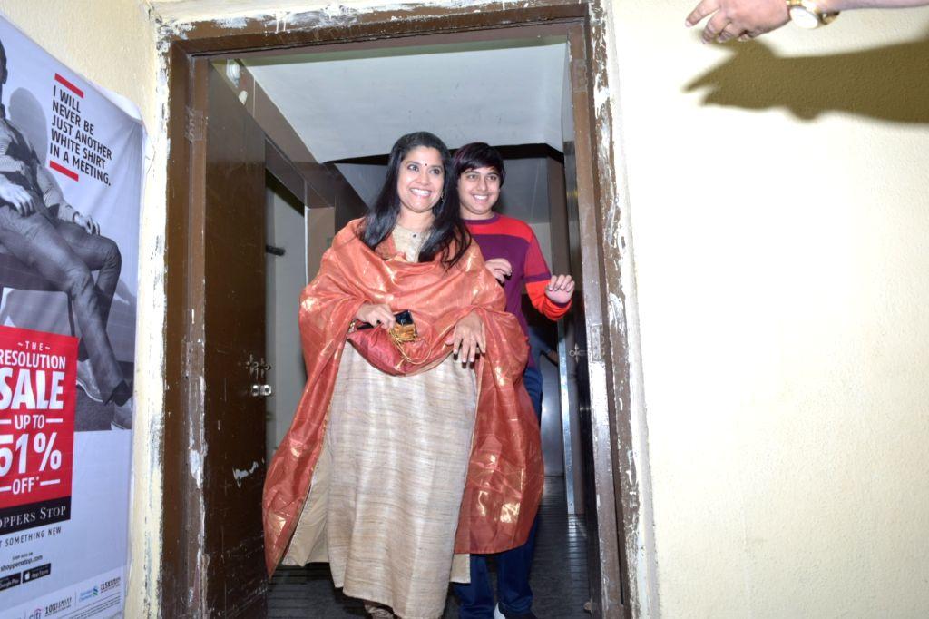 Mumbai, April 23 (IANS) Actress Pallavi Joshi is gearing up to reunite with fellow actresses Renuka Shahane, Durga Jasraj and Rajeshwari Sachdeva as part of the online interactive session, The Future Of Life Festival. - Pallavi Joshi, Renuka Shahane, Durga Jasraj and Rajeshwari Sachdeva