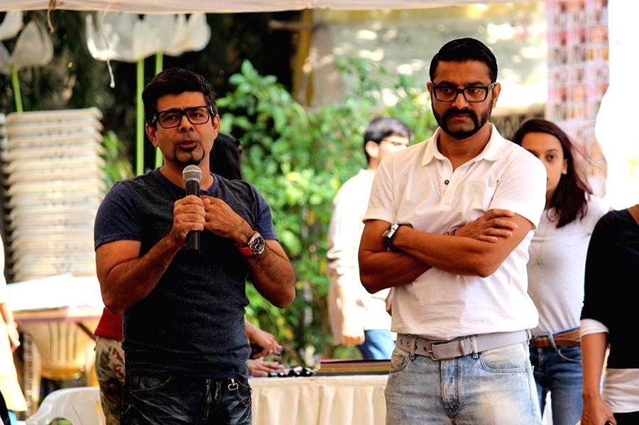 Arzan Khambatta for childrens workshops during the inauguration of Kala Ghoda festival in Mumbai on Feb. 7, 2015.