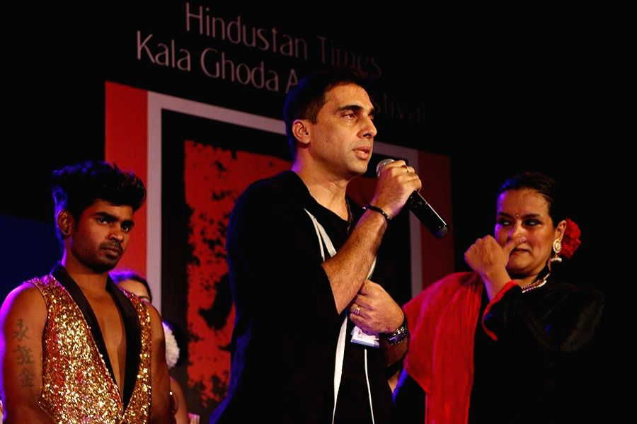 Ashley Lobo Danceworks during the inauguration of Kala Ghoda festival in Mumbai on Feb. 7, 2015.