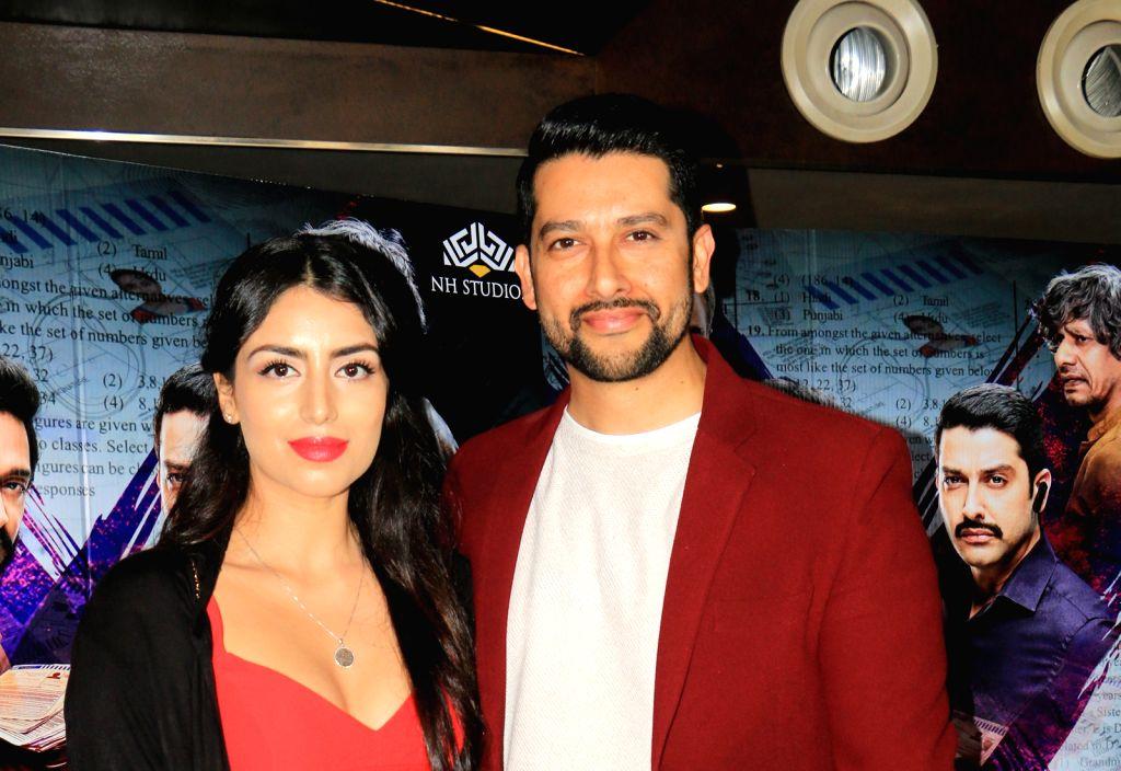 Mumbai, Aug 2 (IANS) Bollywood actor Aftab Shivdasani and his wife Nin Dusanj have been blessed with a baby girl. - Aftab Shivdasani