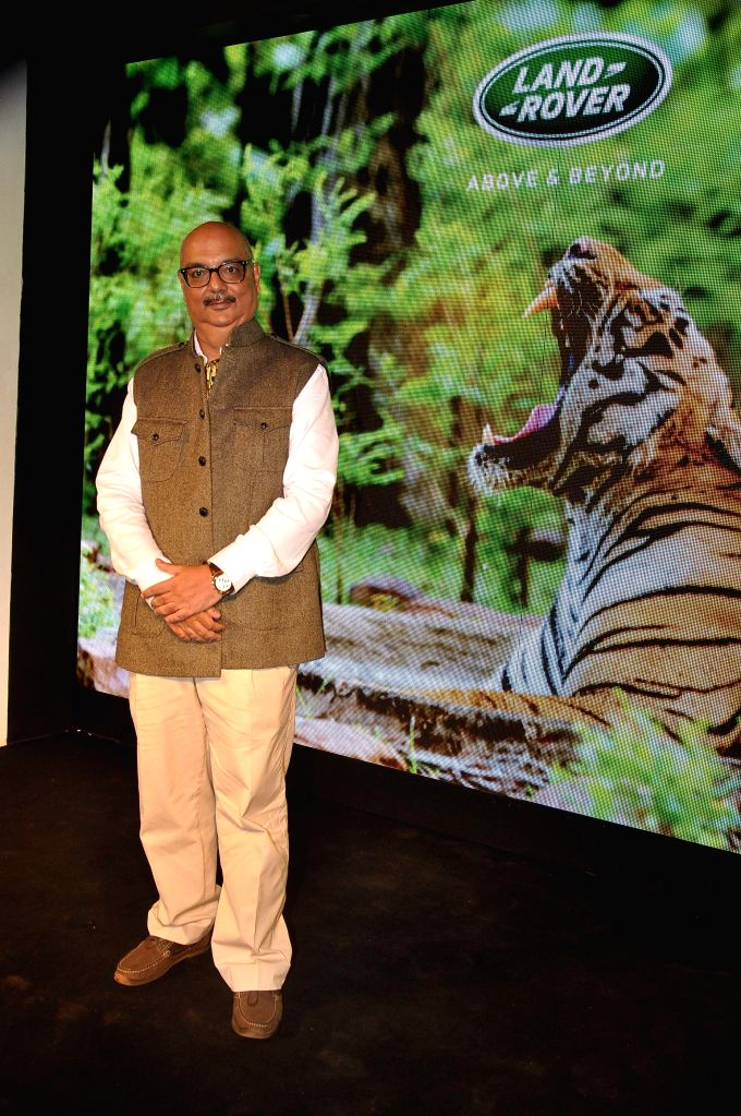 Author Bob Rupani during the launch of the book Tracking the Tiger written by Bob Rupani in Mumbai, on Nov 18, 2014.