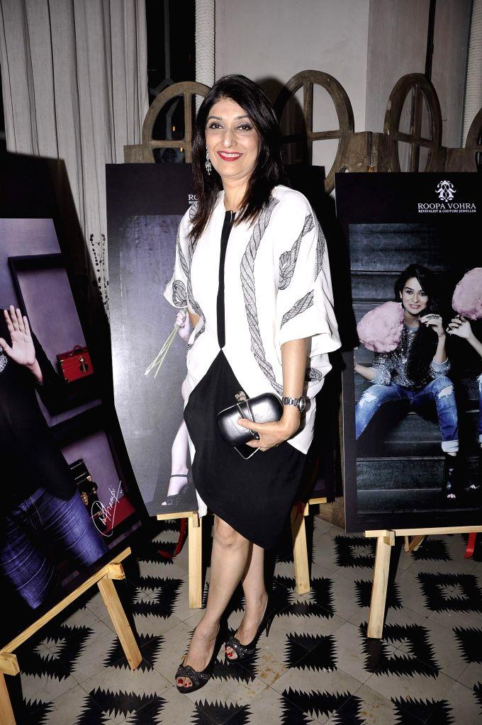 Azmina Rahimtoola at Game Changers 2015 calendar launch in Mumbai on Jan 18, 2015.