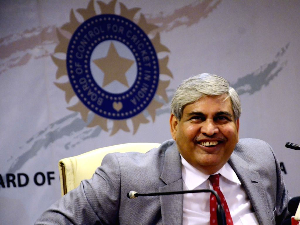 : Mumbai: BCCI chief Shashank Manohar during the Board of Cricket Control of India`s Annual General Meeting at BCCI head Quarter in Mumbai on Nov. 9, 2015. .