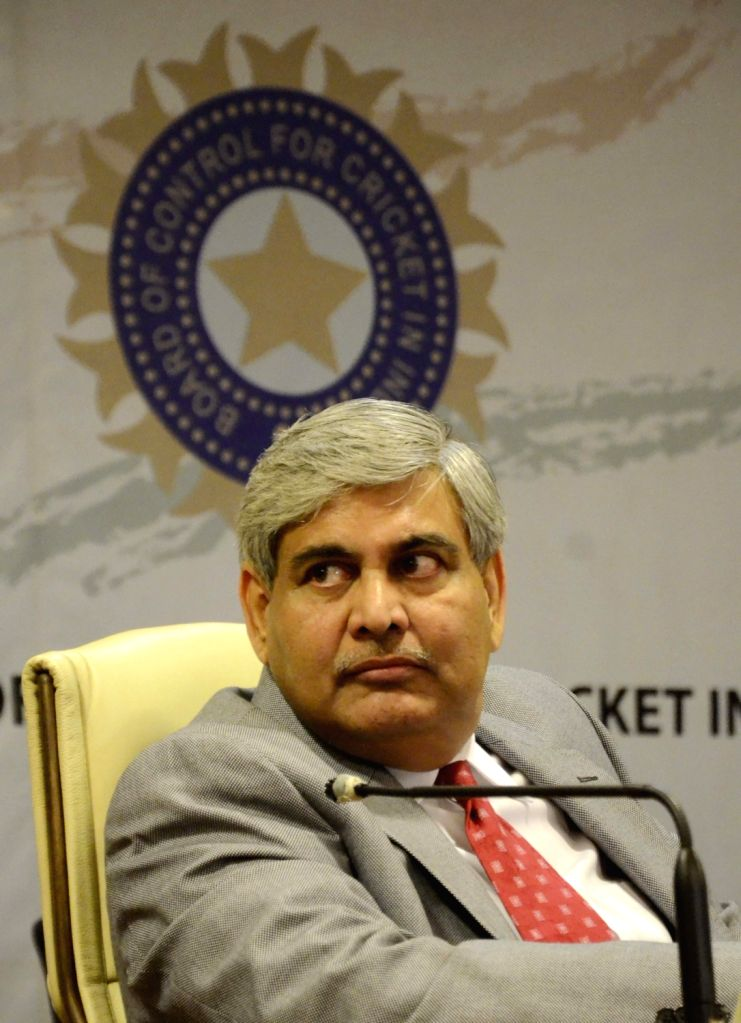 :Mumbai: BCCI chief Shashank Manohar during the Board of Cricket Control of India`s Annual General Meeting at BCCI head Quarter in Mumbai on Nov. 9, 2015. .