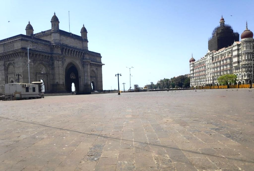 Mumbai bears deserted look during lock down ordered by the Maharashtra Government in the wake of increasing cases of COVID-19 (coronavirus), on March 21, 2020.
