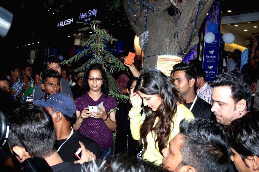 Celeb during the opening of Shuddha Salon and  SPA, in Mumbai on March 21, 2015.