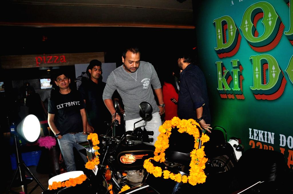 Celebs during a press conference of film Dolly ki Doli in Mumbai on Thursday, Dec 11, 2014.