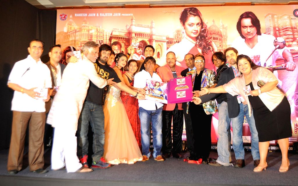 Celebs during the audio launch of film `Mumbai Can Dance Saalaa` in Mumbai on Thursday, Dec 11, 2014.