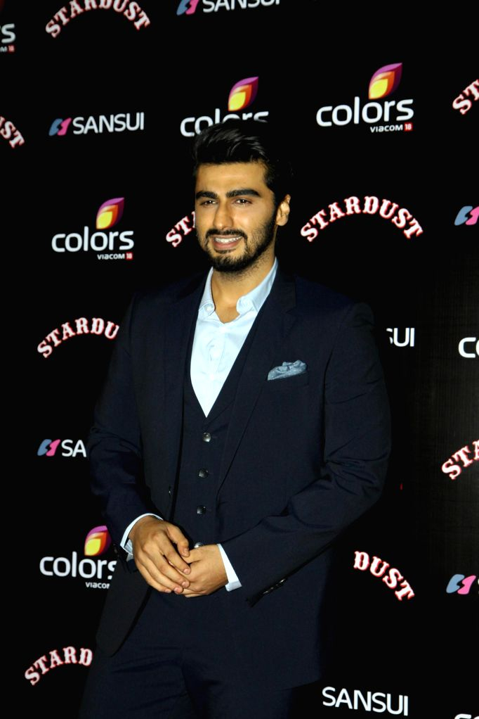 Celebs during the Colors Stardust Awards 2014, in Mumbai on Sunday, Dec 14, 2014.