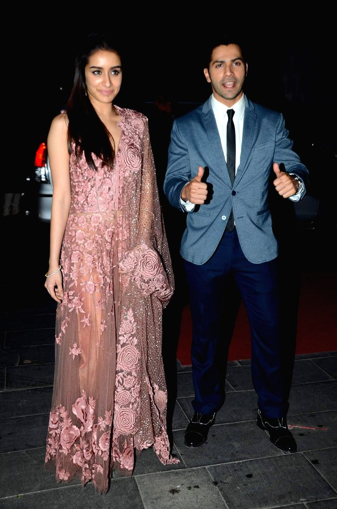 Celebs during the wedding reception of Tulsi Kumar and Hitesh in Mumbai on March 2, 2015.