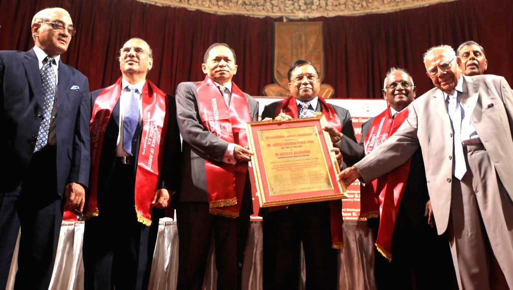 Chief Justice of Bombay High Court Mohit Shah, Chief Justice of Bangladesh, NHRC Chairperson Justice K. G. Balakrishnan, Supreme Court Judge Justice BS Chauhan, NGT Chairperson Justice ... - Swatanter Kumar