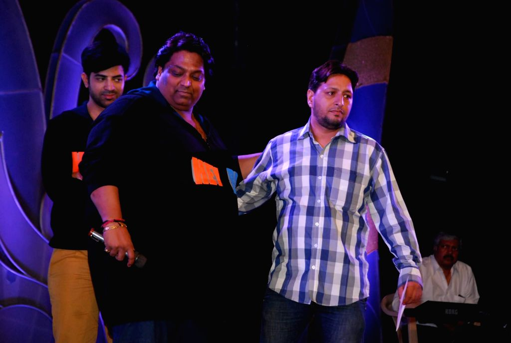 Choreographer and actor Ganesh Acharya at the trailer launch of film ''Hey Bro'' in Mumbai,  on Jan 15, 2015. - Ganesh Acharya