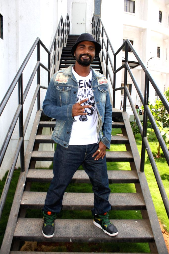Choreographer and filmmaker Remo D`Souza on the sets of Nach Baliye 7 during the promotion of his upcoming film Any Body Can Dance 2 (ABCD2) in Mumbai on May 17, 2015.