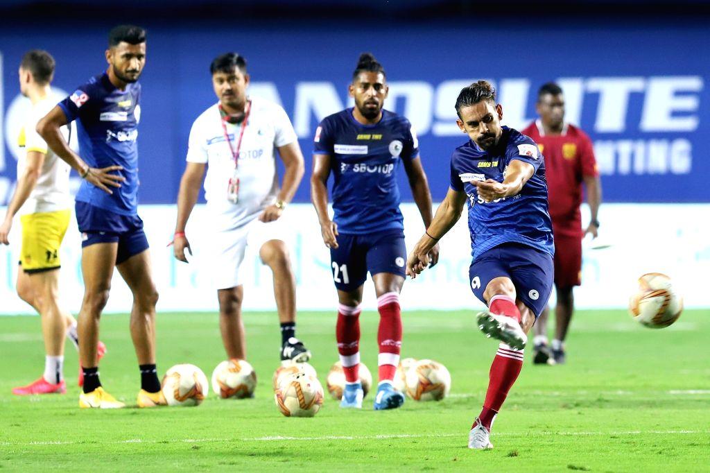 Mumbai City vs ATK Mohun Bagan.(photo:ISL)