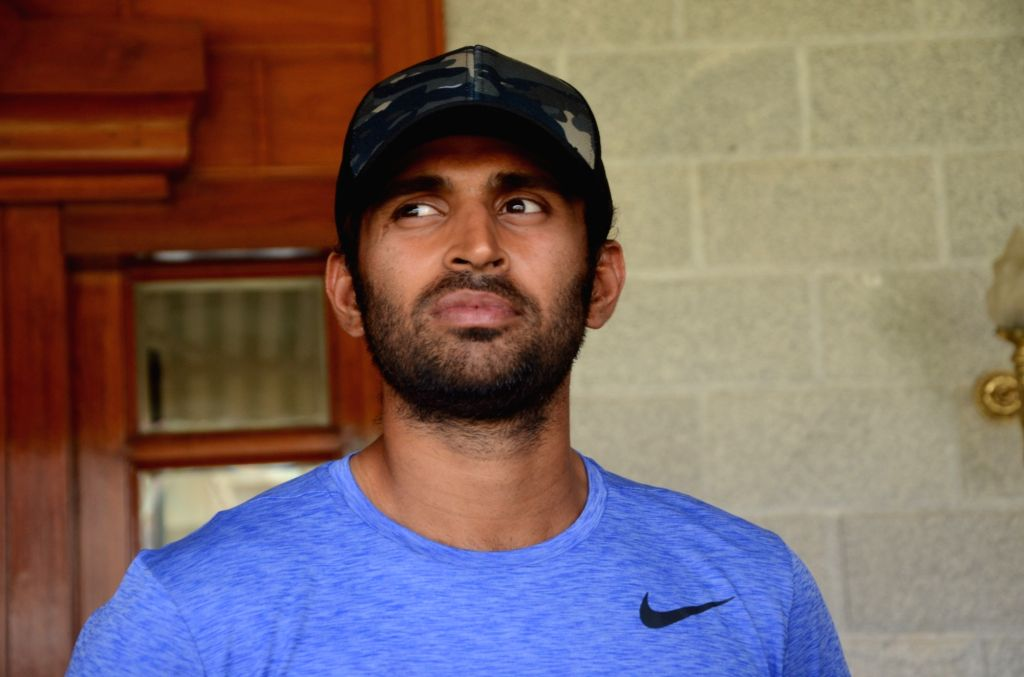 Mumbai: Cricketer Abhishek Nayar at the venue of the T20 Blind World Cup match between India and South Africa in Mumbai on Feb 3, 2017. (Photo: IANS)