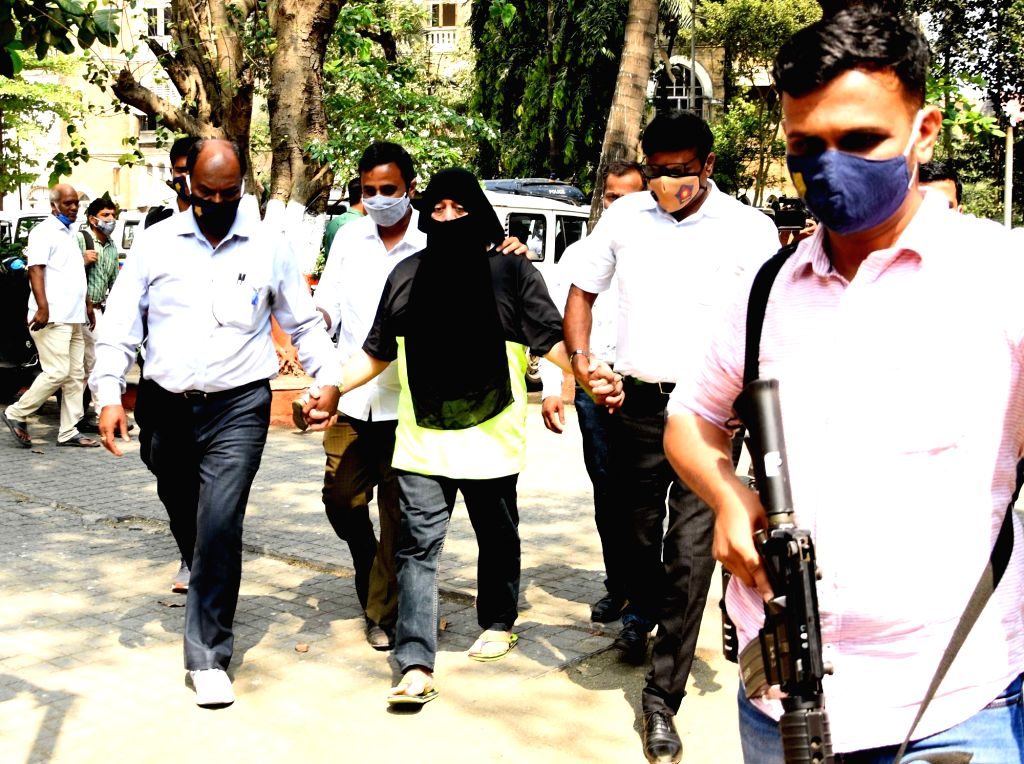 Mumbai Crime branch's anti extortion cell brings Gangster Ravi Pujari at the Crime Branch after being produced at MCOCA court in Mumbai, Maharashtra on Tuesday 23rd February, 2021.