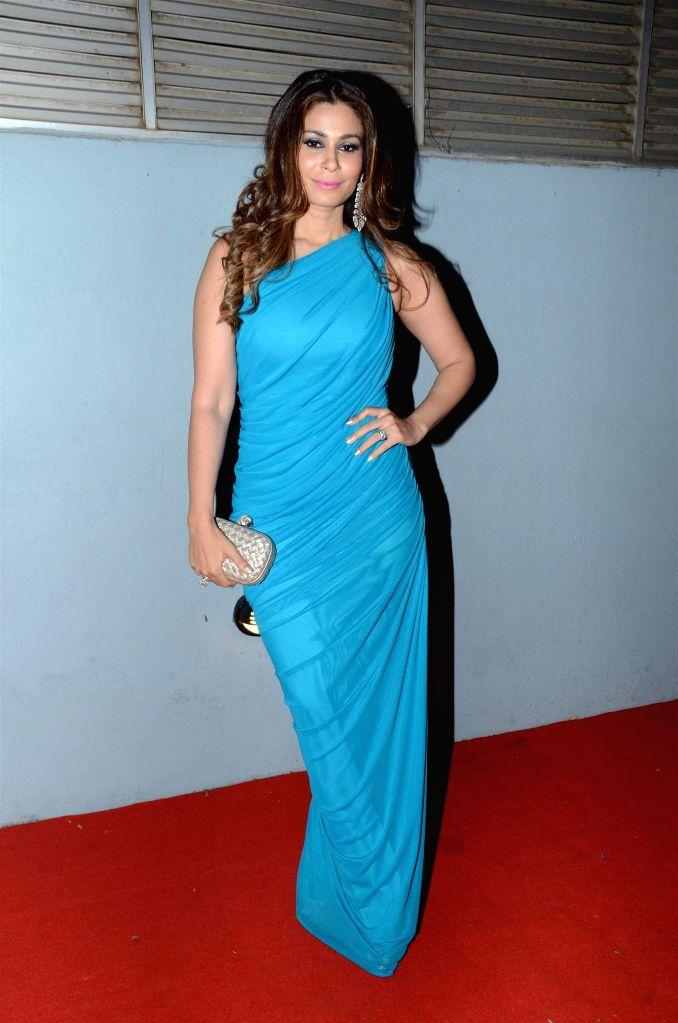 Designer Shaheen Abbas during The Artisan Jewellery Design Awards 2014 in Mumbai on Feb 20, 2015.