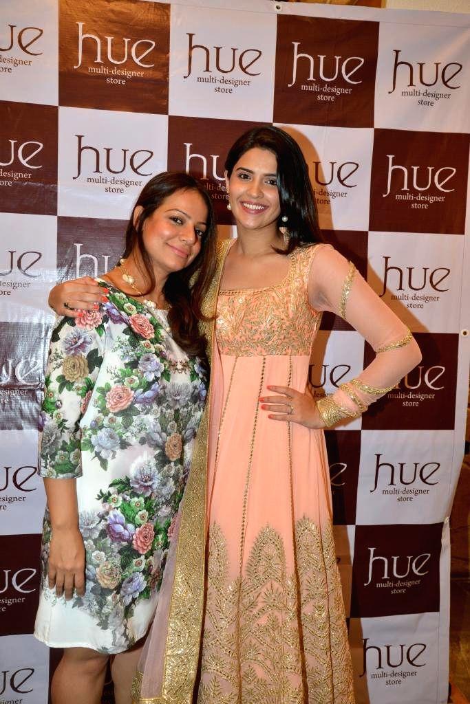 Designer Tamanna Punjabi Kapoor and Deeksha Seth during the launch of Spring Summer Collection 2015 by designers Tamanna Punjabi Kapoor and Shruti Sanchet in Mumbai, on March 13, 2015. - Tamanna Punjabi Kapoor and Deeksha Seth