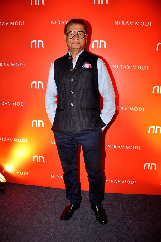 Dilip De during the inauguration of Nirav Modi Jewellry shop in Mumbai on March 14, 2015.