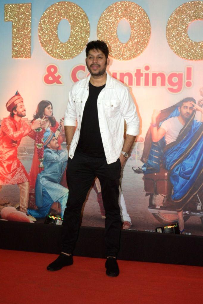 "Mumbai: Director Raaj Shaandilyaa attend the success party of film ""Dream Girl"" in Mumbai on Sep 28, 2019. (Photo: IANS)"
