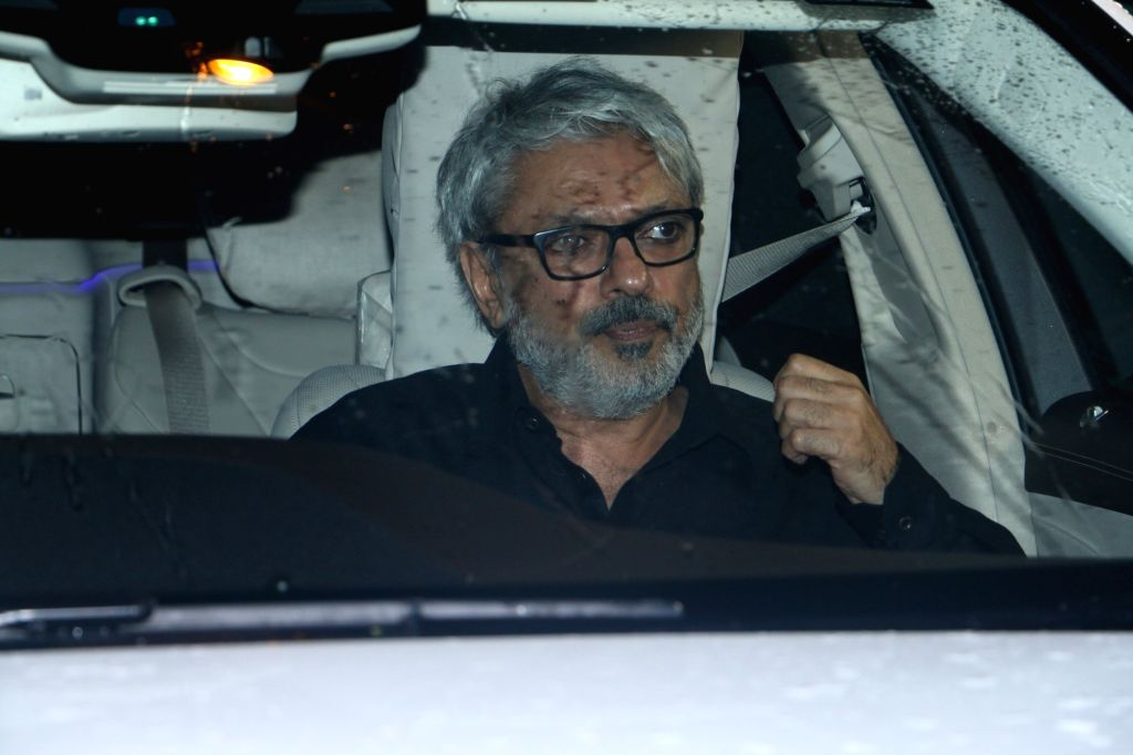 Mumbai: Director Sanjay Leela Bhansali arrives at Priyanka Chopra and Nick Jonas' engagement party in Mumbai on Aug 18, 2018. (Photo: IANS) - Priyanka Chopra