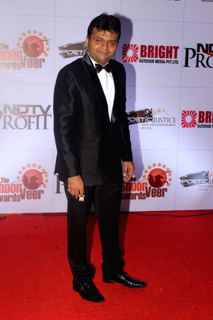 Dr. Baljinder Singh Dhilloni during the The Shoorveer Awards 2015 in Mumbai on March 14, 2015. - Baljinder Singh Dhilloni