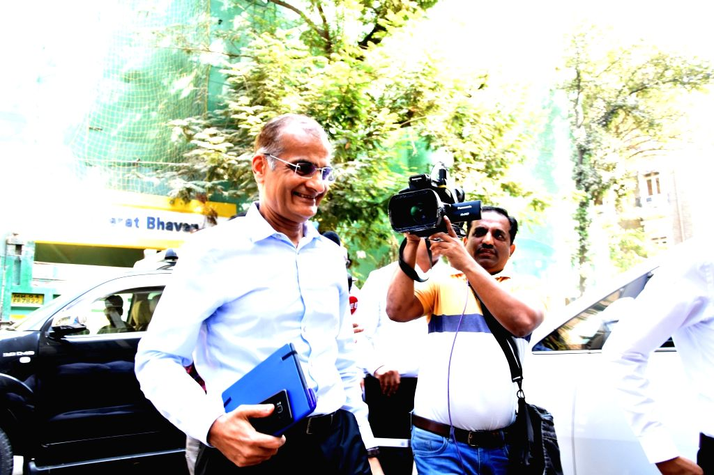 Mumbai: Edelweiss Chairman Rashesh Shah arrives to appear before the Enforcement Directorate (ED) in connection with the Foreign Exchange Management Act (FEMA) violation, in Mumbai on Jan 15, 2020. Rashesh Shah arrived at the ED office to join invest - Rashesh Shah