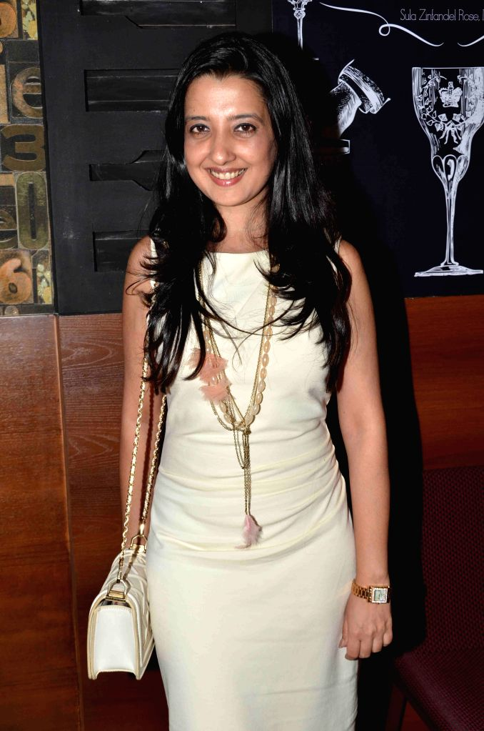 Fashion designer Amy Billimoria during the launch of Shine Young 2015 in Mumbai on 4th May 2015