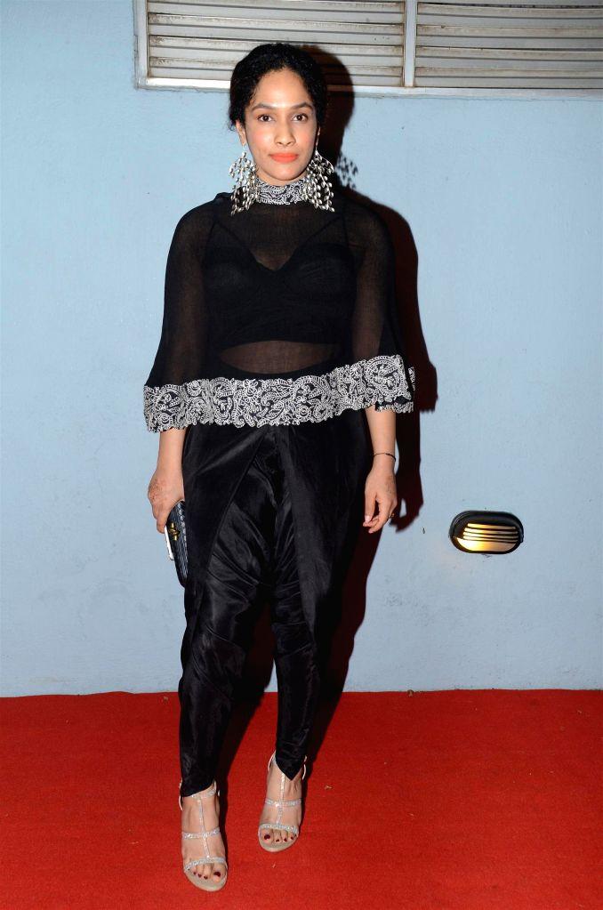 Fashion designer Masaba during The Artisan Jewellery Design Awards 2014 in Mumbai on Feb 20, 2015.