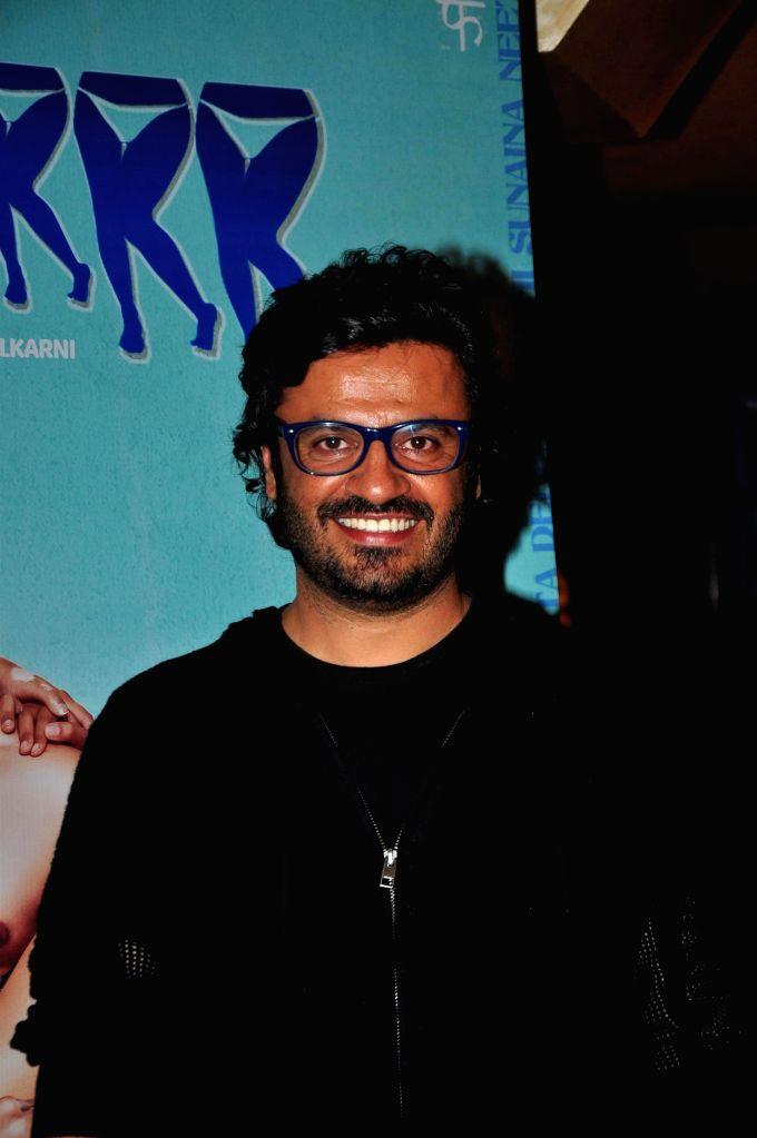 Film Producer Vikas Bahl during the trailer launch of upcoming film 'Hunterrr'in Mumbai, on Jan. 15, 2015.
