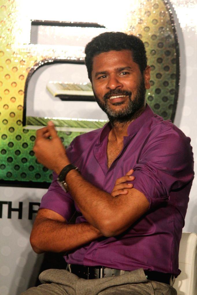 Filmmaker and actor Prabhu Deva during the trailer launch of film Any Body Can Dance 2 (ABCD 2) in Mumbai, on April 23, 2015. - Prabhu Deva