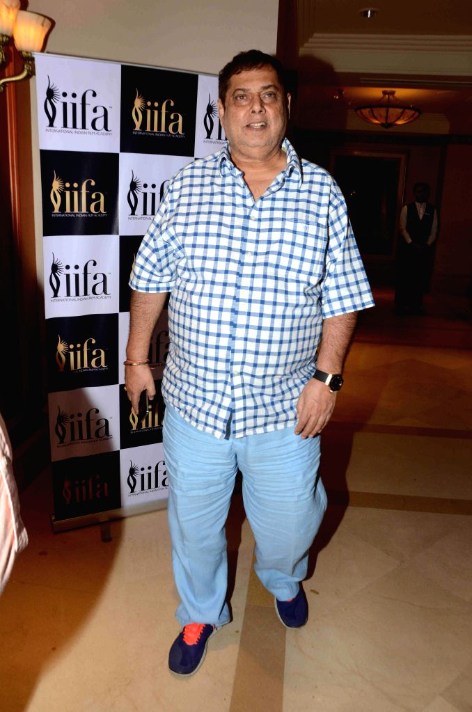 Filmmaker David Dhawan during the 16th IIFA Voting Weekend, in Mumbai on March 13, 2015. - David Dhawan