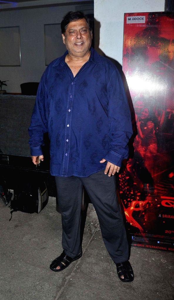 Filmmaker Dinesh Vijan during the special screening of the movie Badlapur in Mumbai on 18th Feb, 2015. - Dinesh Vijan