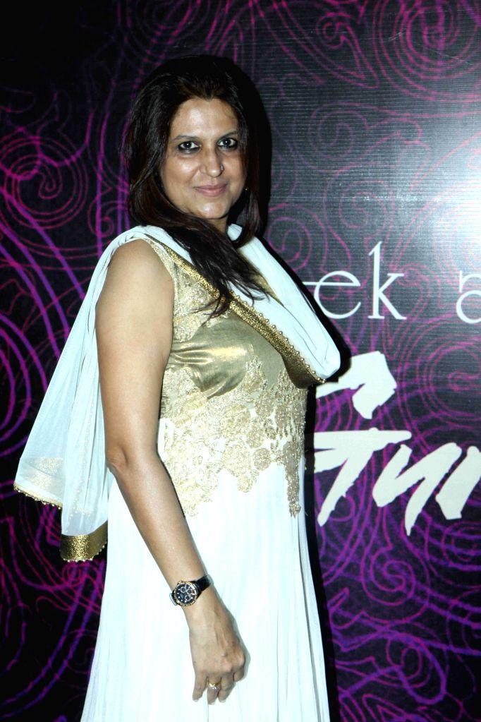 Filmmaker Kiran Phadnis during the first look and music launch of Ek Adbhut Dakshina Guru Dakshina in Mumbai on March 25, 2015. - Kiran Phadnis