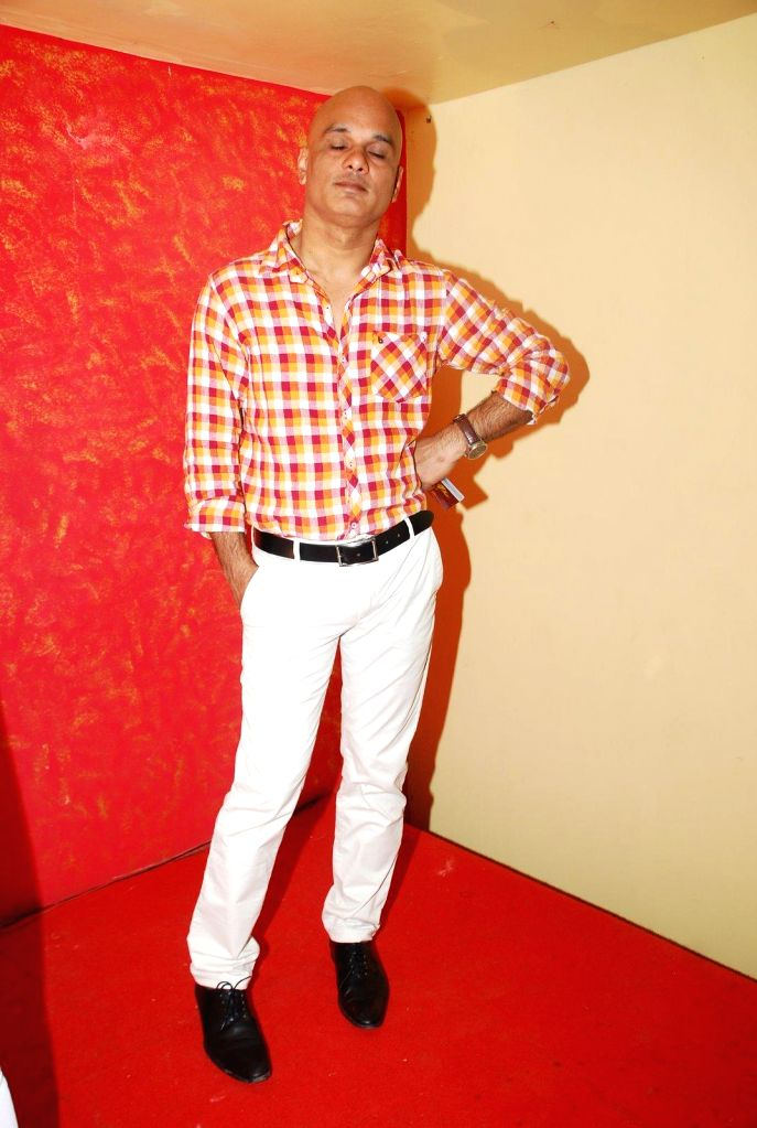 Filmmaker Manish Agnibho during the music launch of film Round Figure  in Mumbai on Dec 26, 2014. - Manish Agnibho