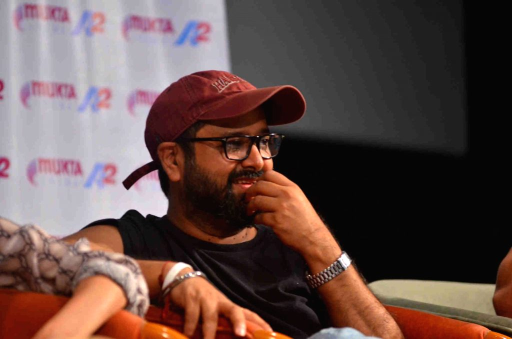 Mumbai: Filmmaker Nikhil Advani during the interactive session with students at the 'Celebrate Cinema', an annual festival organises by Whistling Woods International in Mumbai, on Sep 12, 2015. (Photo: IANS) - Nikhil Advani