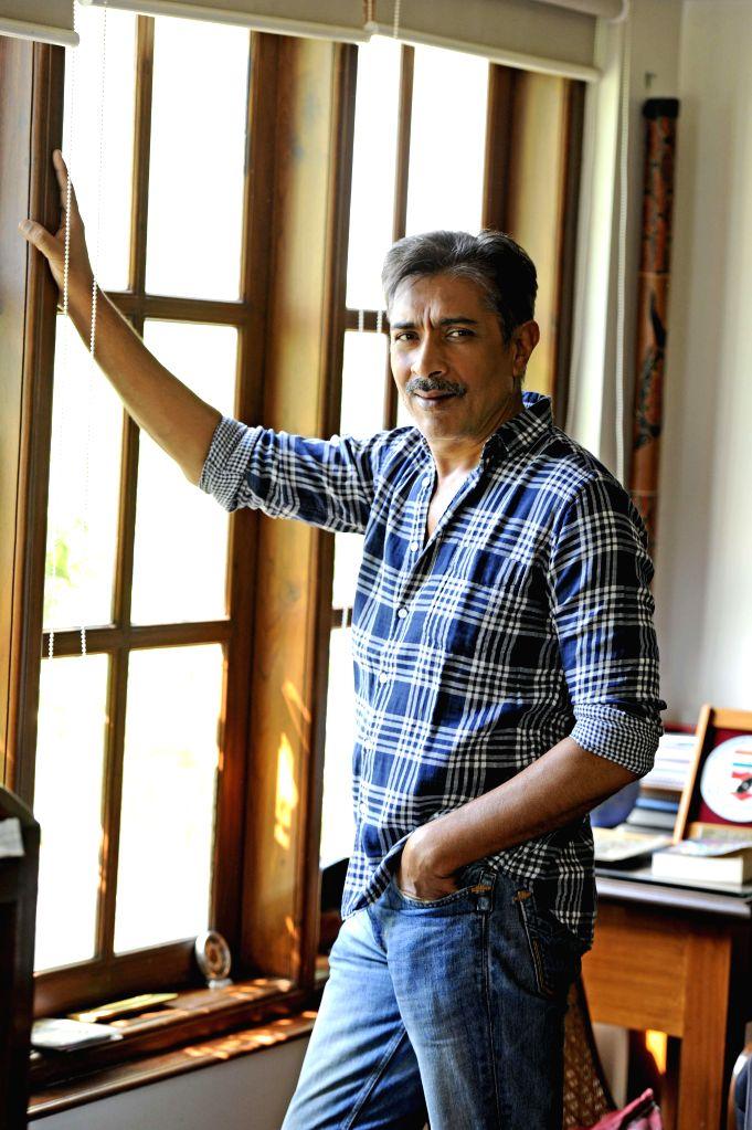 Filmmaker Prakash Jha poses for a photograph in Mumbai.