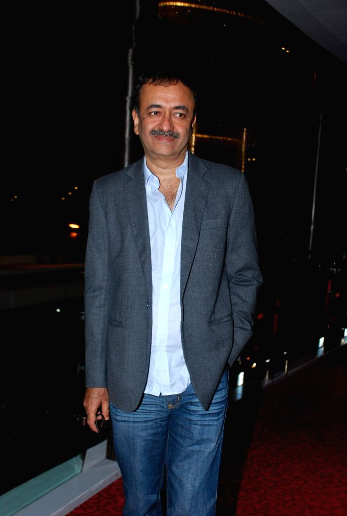 Filmmaker Rajkumar Hirani during presentation of film PK, in Mumbai on Nov 25, 2014. - Rajkumar Hirani