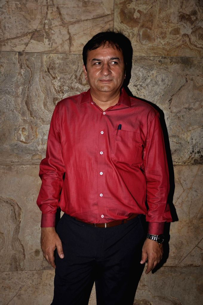 Filmmaker Sanjay Gulati during the premier of Bollywood movie Hola Venky. The movie by independent filmmaker Sandeep Mohan, made at a cost of INR 10 Lakh or US$ 16,000, with his three-member ... - Sanjay Gulati